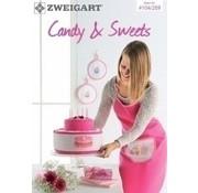 Zweigart Zweigart borduurboekje Candy and Sweet 104-289