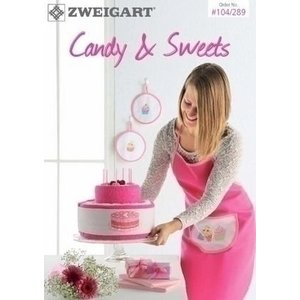 Zweigart Zweigart borduurboekje Candy and Sweet 104-289