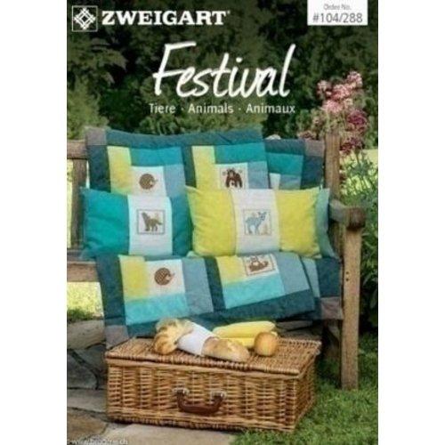 Zweigart Zweigart borduurboekje Festival 104-288