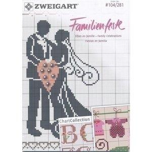 Zweigart Zweigart borduurboekje Familienfeste 104-281