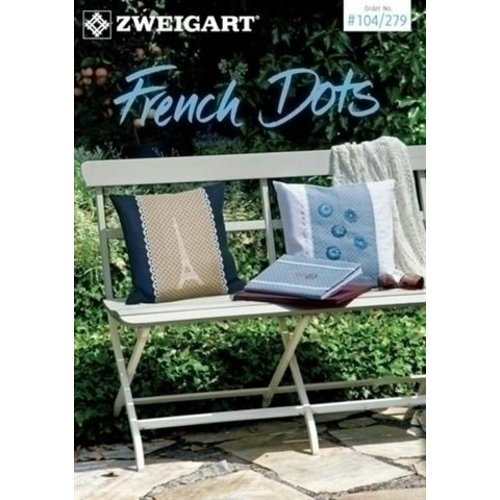 Zweigart Zweigart borduurboekje French Dots 104-279
