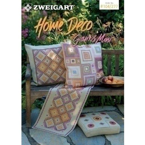 Zweigart Zweigart borduurboekje Home Deco 104-277