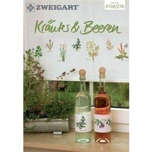 Zweigart Zweigart borduurboekje Krautes & Beeren 104-278