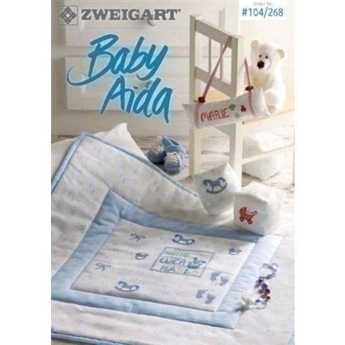 Zweigart Zweigart borduurpatronen Baby Aida 104 268