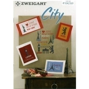 Zweigart Zweigart City borduurboekje 104_269