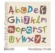 Lili Points Multicolour Alphabet CL002