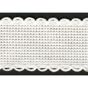 Vervaco Vervaco Aidaband 8 cm wit