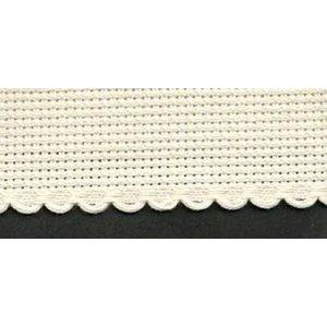 Vervaco Vervaco Aidaband 10 cm beige rol van 20 meter