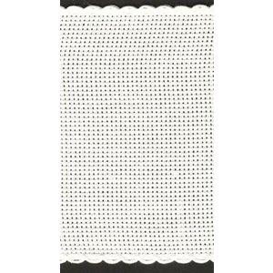 Zweigart Zweigart aidaband 19,5 cm wit nr 1 rol 10 meter