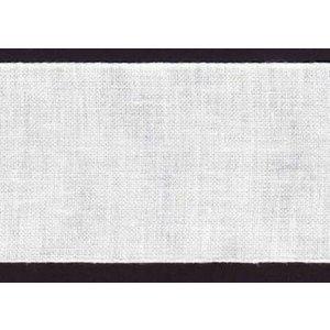 Zweigart Zweigart linnenband 19,5 cm wit nr 1