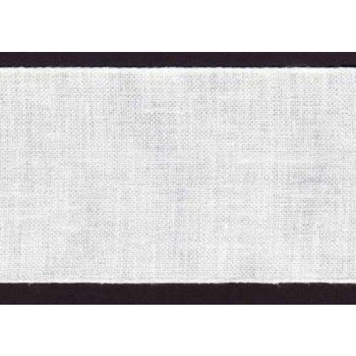 Zweigart Rol Zweigart linnenband 19,5 cm wit nr 1 10 meter