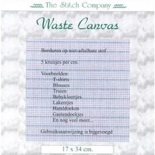 Waste Canvas 17 x 34 cm