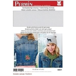 Permin Permin Soluble canvas 15 x 22 cm 800-1