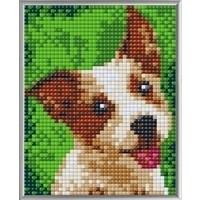 Pixelhobby XL Geschenkset 4 platen Terrier 28025