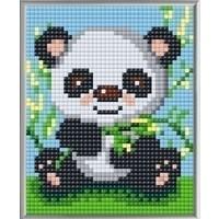 Pixelhobby XL Geschenkset 4 platen Panda 28012