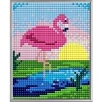 Pixelhobby XL Geschenkset 4 platen Flamingo 28011