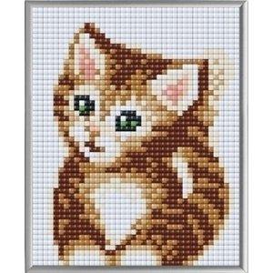 PixelHobby Pixelhobby XL Geschenkset 4 platen Baby Kitten