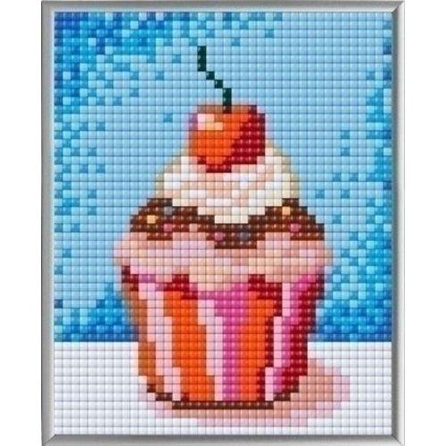 PixelHobby Pixelhobby XL Geschenkset 4 platen Cupcake 28009