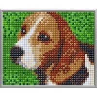 Pixelhobby XL Geschenkset 4 platen Beagle 28019