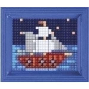 PixelHobby Pixelhobby XL geschenkset Zeilbootje 12068