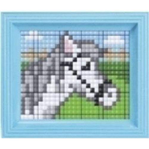 PixelHobby Pixelhobby XL geschenkset Paard 12069