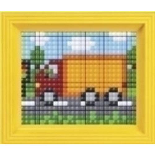 PixelHobby Pixelhobby XL geschenkset vrachtwagen 12072