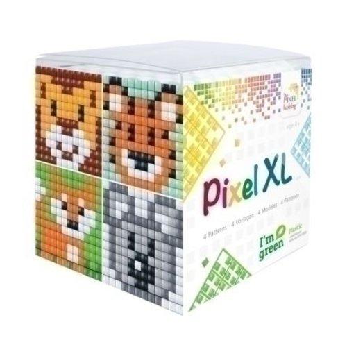 PixelHobby Pixel XL kubus set wilde dieren 24107
