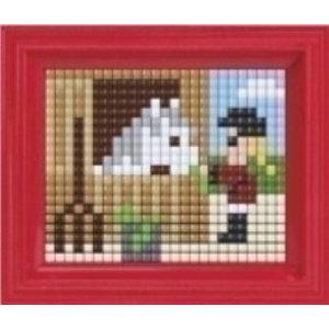 PixelHobby Pixelhobby XL geschenkset Paard 12076
