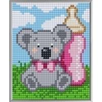 Pixelhobby XL geschenkset Geboorte Meisje 28002