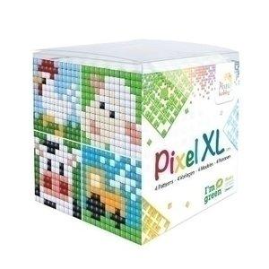 PixelHobby Pixel XL kubus set Boerderijdieren 24110