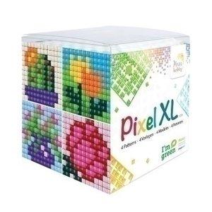 PixelHobby Pixel XL kubus set Bloemen 24103