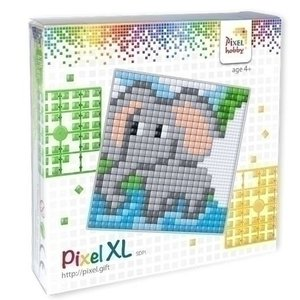 PixelHobby Pixelhobby XL set Olifantje