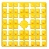 Pixelmatje XL kanariegeel nr 392