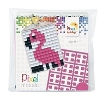 Pixelhobby Medaillon Startset Flamingo 23021