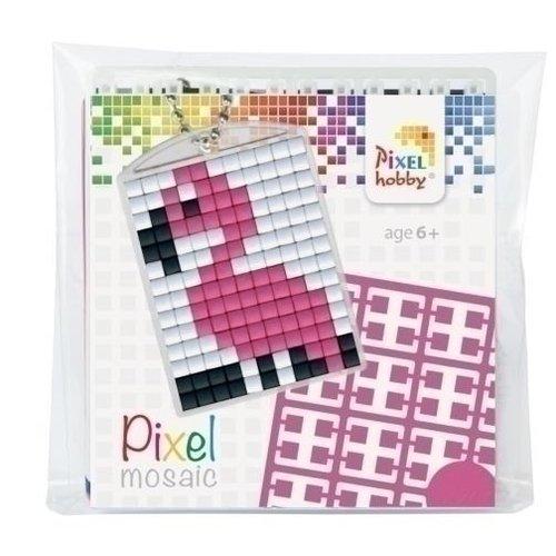 PixelHobby Pixelhobby Medaillon Startset Flamingo 23021
