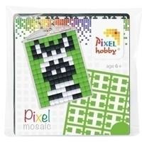 Pixelhobby medaillon startset Zebra