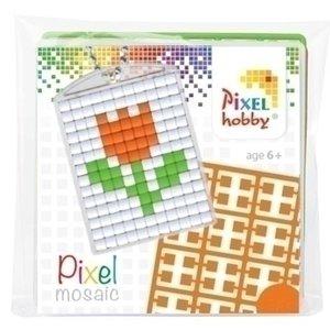 PixelHobby Pixelhobby medaillon startset Tulp