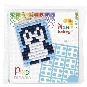 PixelHobby Pixelhobby medaillon startset Pinguin