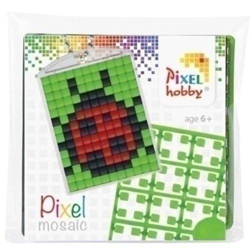 PixelHobby Pixelhobby medaillon startset Lieveheersbeestje