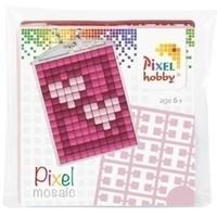 Pixelhobby medaillon startset Hartjes