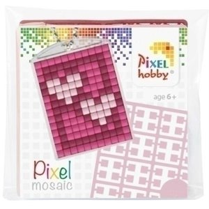 PixelHobby Pixelhobby medaillon startset Hartjes