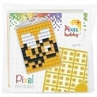 Pixelhobby medaillon startset Bij