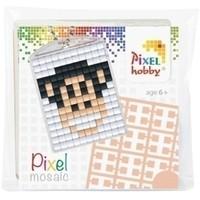 Pixelhobby medaillon startset Aap