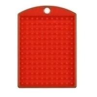 Pixelhobby medaillon rood