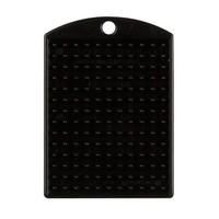 Pixelhobby medaillon zwart