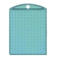 Pixelhobby medaillon turquoise transparant