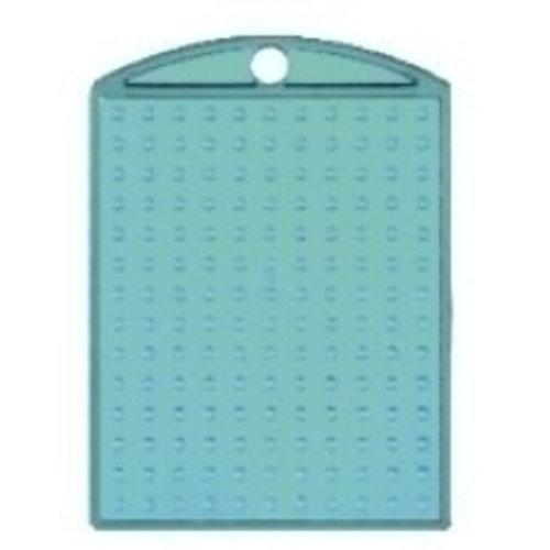 PixelHobby Pixelhobby medaillon turquoise transparant
