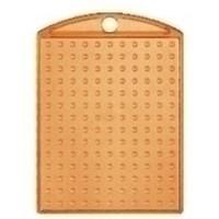 Pixelhobby medaillon oranje transparant
