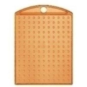 PixelHobby Pixelhobby medaillon oranje transparant