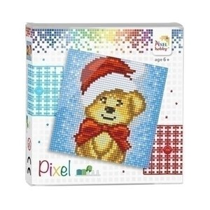 PixelHobby Pixel Set Kerst Puppy 44018